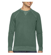 Authentic Pigment Mens French Terry Crew