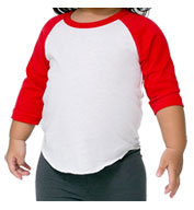 American Apparel Infant Raglan