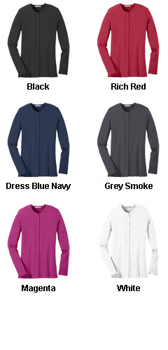 Ladies Concept Stretch Cardigan - All Colors