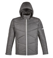 Custom Mens Avant Tech Melange Insulated Jacket with Heat Reflective Technology