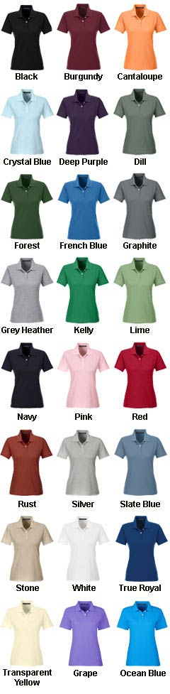 Ladies DryTec Performance Polo - All Colors
