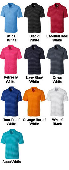 Mens CB DryTec™ Franklin Stripe Polo - All Colors