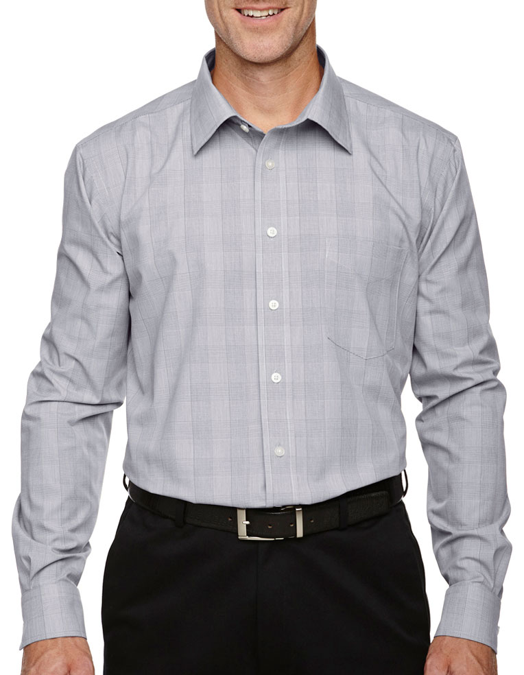 Glen Plaid Dress Shirt