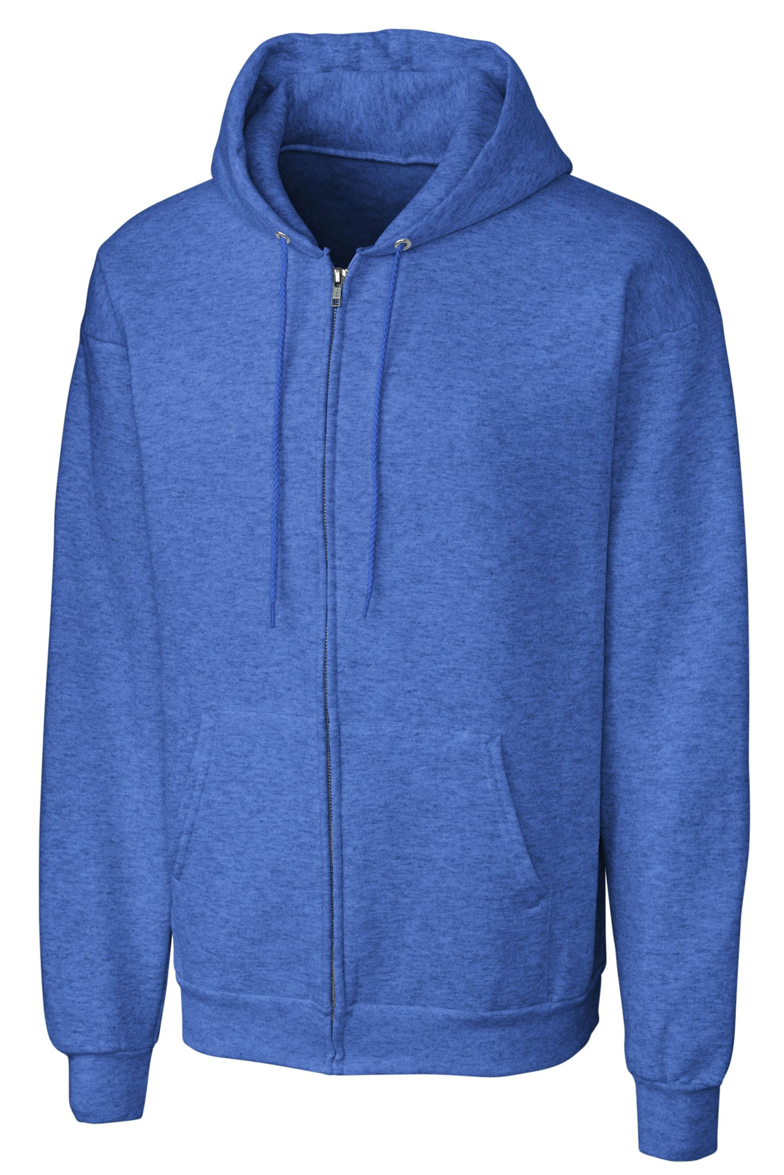 Basic Fleece Full Zip Hoodie