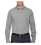 Custom Central Ave Mens Melange Performance Shirt