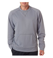 Custom Cool and Dry Sport Crew Neck Fleece