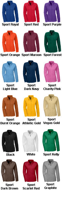 Ladies Campus Microfleece Jacket - All Colors