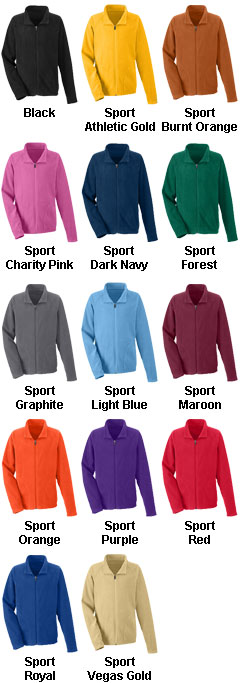 Youth Campus Microfleece Jacket - All Colors