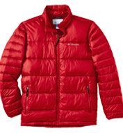 Custom Columbia Mens Frost Fighter Puffy Jacket