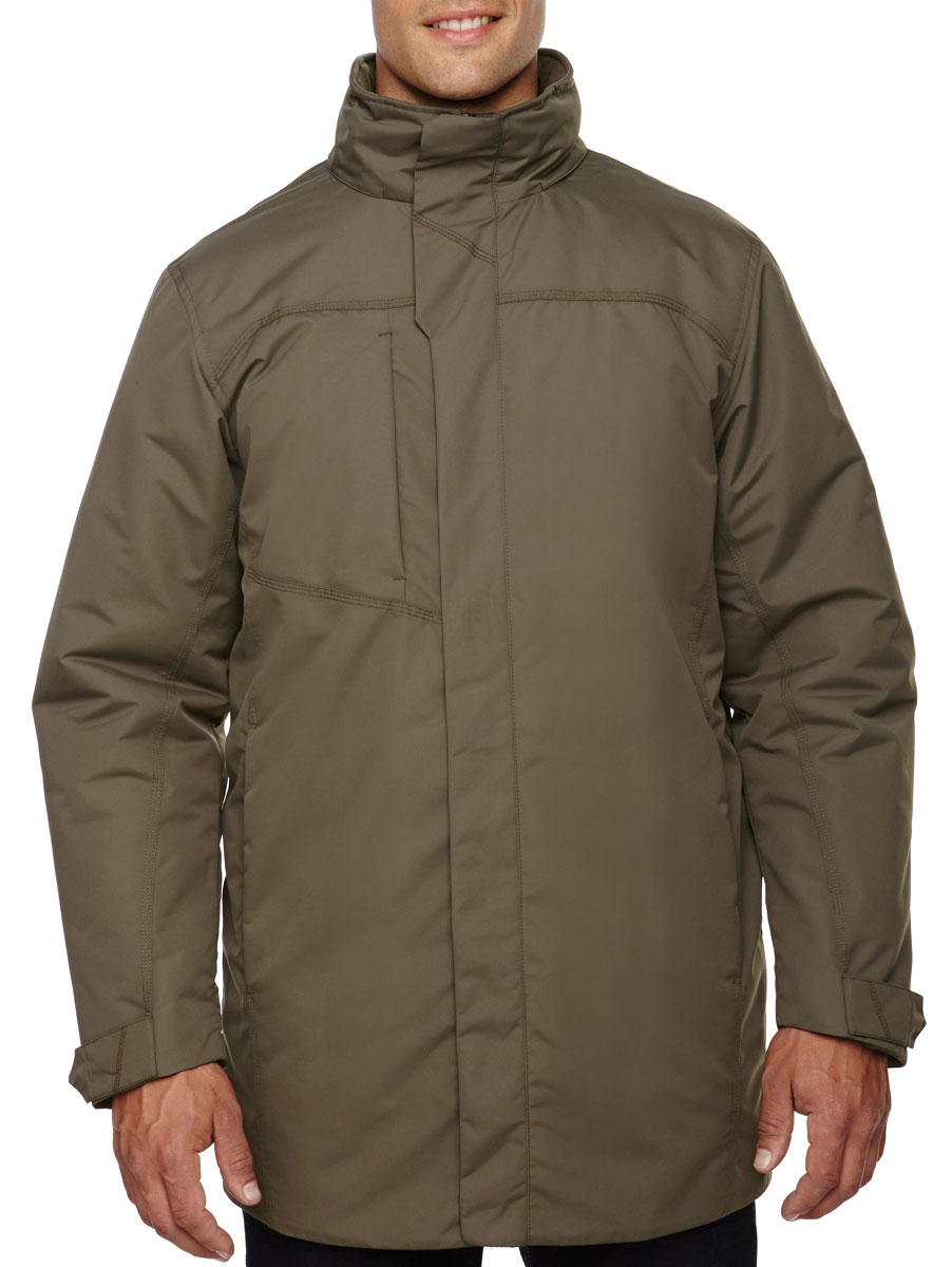 North End Promote Mens Insulated Car Jacket
