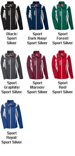 Ladies Icon Colorblock Soft Shell Jacket - All Colors