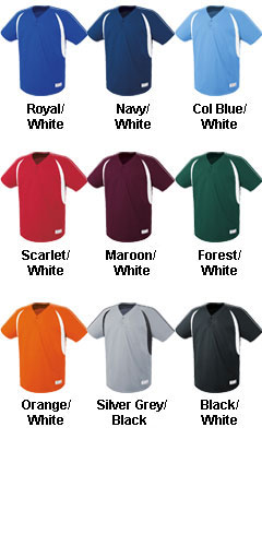 Adult Impact Two-Button Jersey - All Colors