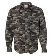 Custom Mens Weatherproof Vintage Camo Shirt
