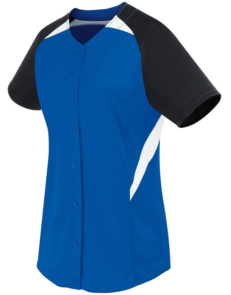 Womens Galaxy Full Button Jersey