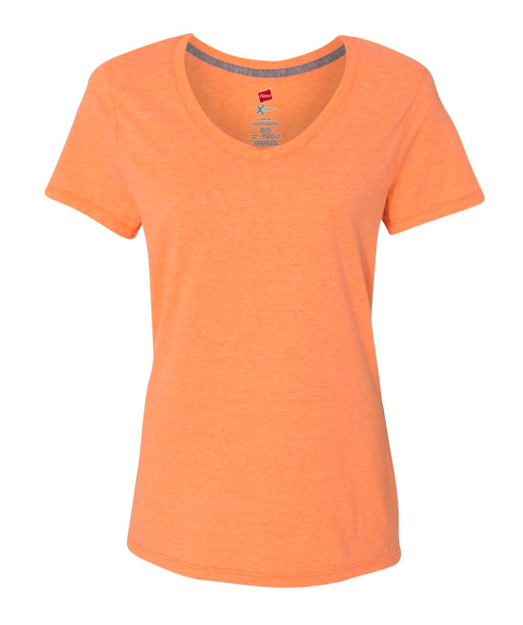 Hanes Womens X-Temp� V-Neck T-Shirt