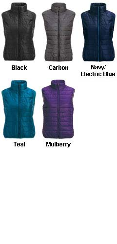 Ladies Ultra Light Puffer Vest - All Colors