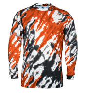 Custom Tie Dri Long Sleeve Tee Mens
