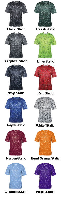 Adult Static Tee - All Colors