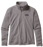Patagonia Womens Micro D® Quarter Zip Fleece