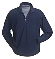 Custom Dri Duck Element Quarter-Zip Nano Fleece Pullover by Dri-Duck Mens