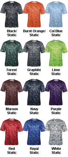 Youth Static Tee - All Colors
