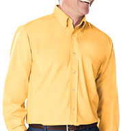 Custom Mens Long Sleeve Fine Line Twill Button Up Shirt Mens