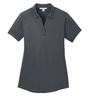Custom Ladies  Diamond Jacquard Polo