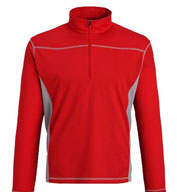 Custom Adult Mid Baselayer Pullover Mens