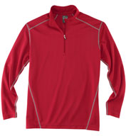 Rivers End Mens Half Zip Mock Cover Up