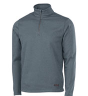 Custom Adult Stealth Zip Pullover Mens