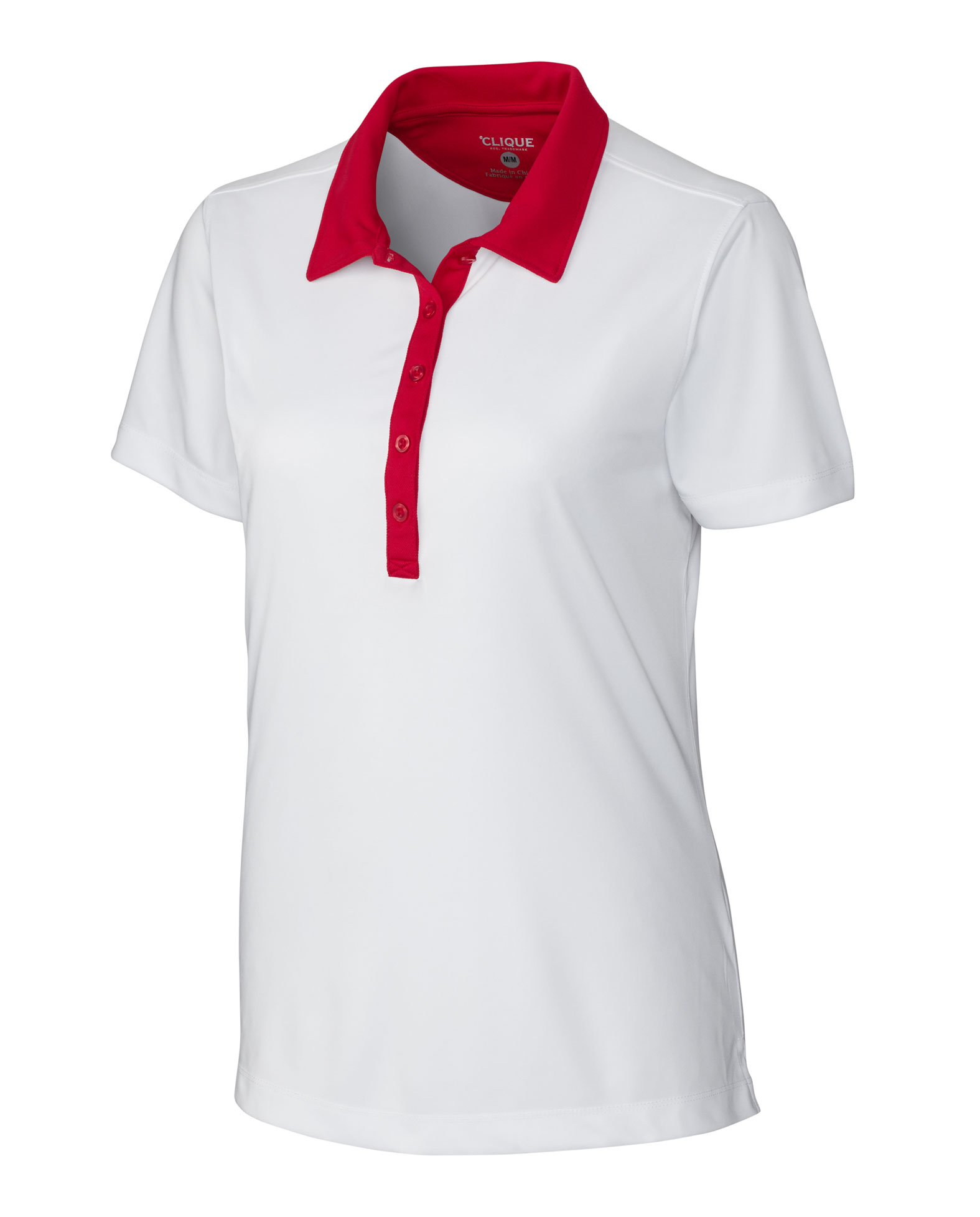 Clique Ladies Parma Colorblock Polo