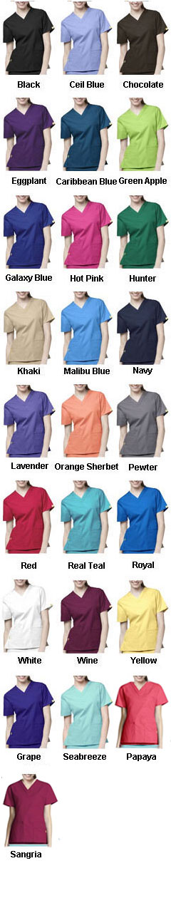 WonderWink� Bravo Scrub Top - All Colors