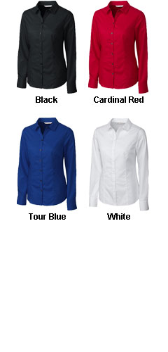 Cutter  & Buck Ladies  Epic Easy Care Broken Twill - All Colors