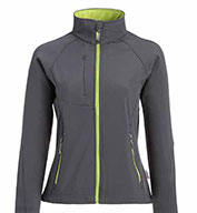 Custom Ladies Matrix Soft Shell Jacket