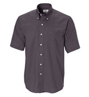 Custom Mens Epic Easy Care Short Sleeve Nailshead Shirt by Cutter & Buck Mens