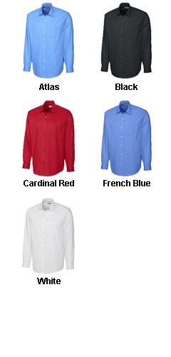 Mens Epic Easy Care Spread Collar Nailshead Dress Shirt - All Colors