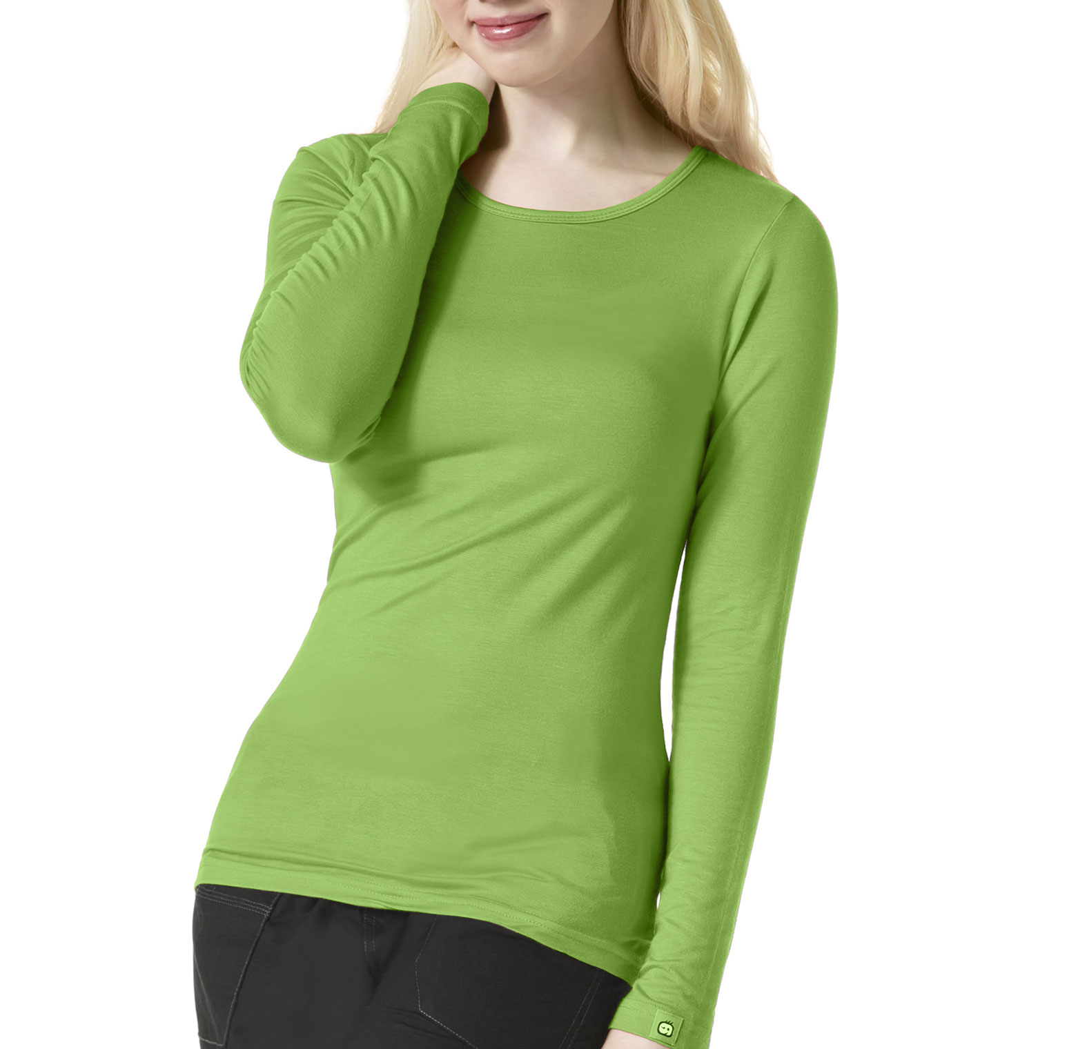 WonderWink� Silky Long Sleeve Base Layer Tee