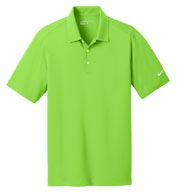 Custom Nike Golf Dri-Fit Vertical Mesh Polo Mens