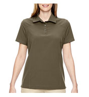 Custom Ladies Excursion Crosscheck Performance Woven Polo