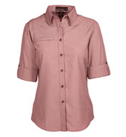Ladies Excursion Textured Performance Shirt