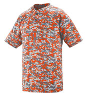 Custom Digi Camo Wicking Two-Button Jersey Mens