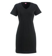 Fine Jersey V-Neck Coverup Dress