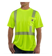 Custom Carhartt Force High-Visibility Class 2 T-Shirt Mens