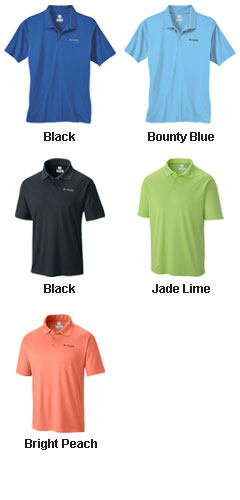 Mens PFG Zero Rules® Polo by Columbia - All Colors