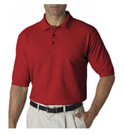 UltraClub Mens Tall Whisper Pique Polo