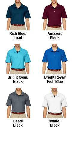 Adidas Golf Mens Puremotion® Colorblock Polo - All Colors