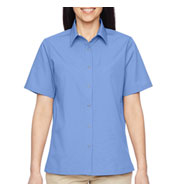 Custom Ladies  Advantage Snap Closure Short-Sleeve Shirt