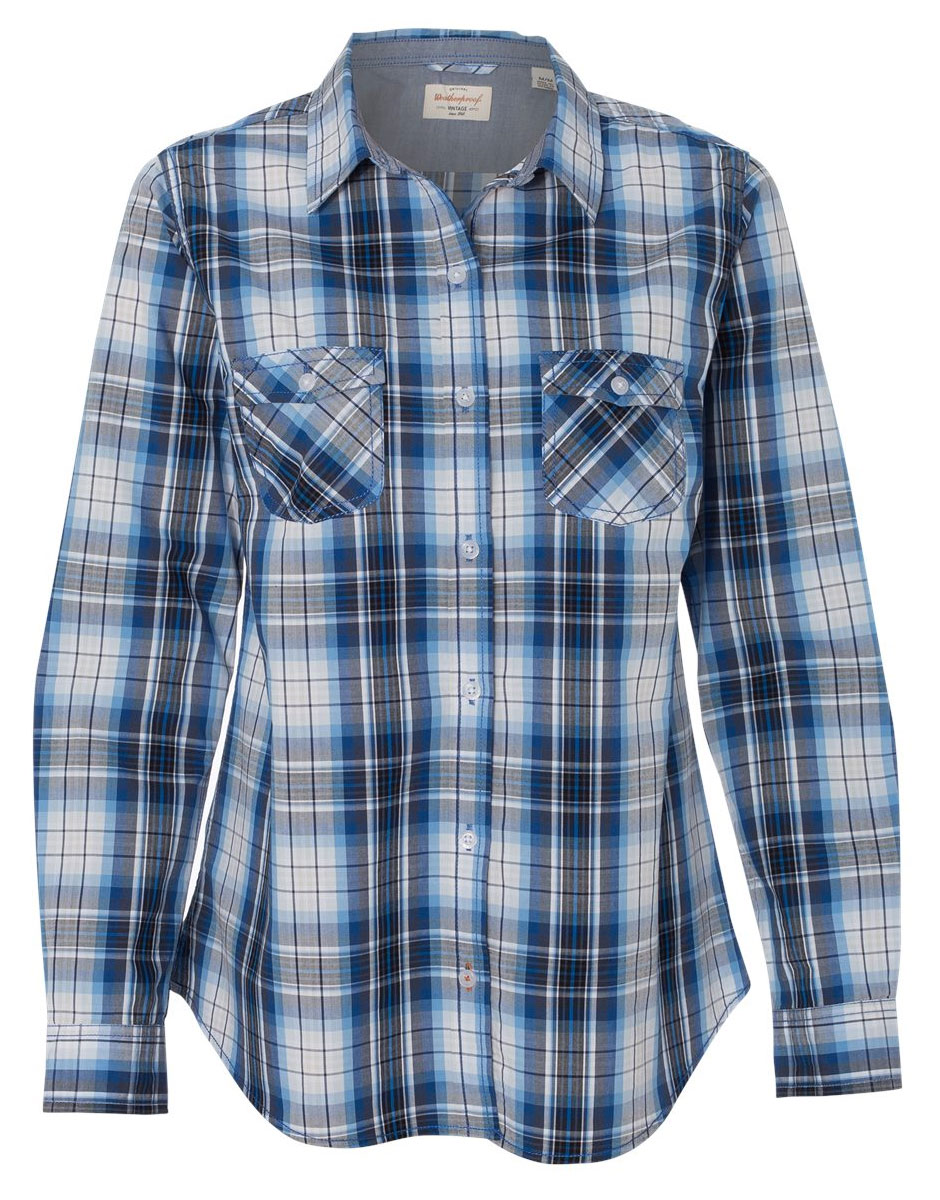 Weatherproof� Ladies Vintage Plaid Long Sleeve Shirt