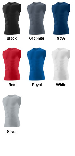 Youth Hyperform Sleeveless Compression Shirt - All Colors