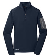 Custom Eddie Bauer® Ladies1/2-Zip Performance Fleece Jacket